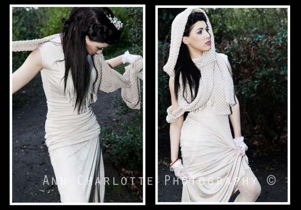 Enya Patricia, Fashion, Ann Charlotte Photography, Snow White, Samantha Ria, White, Creme, beautiful, bride,